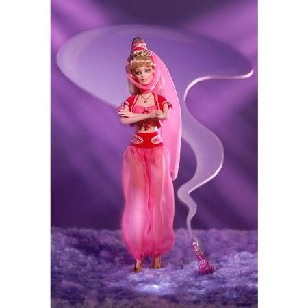 Doll as Jeannie From I Dream Of Jeannie