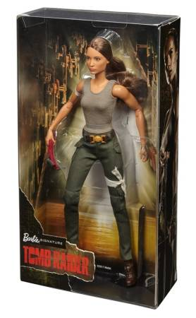Action and Adventure Starts with the Tomb Raider Barbie