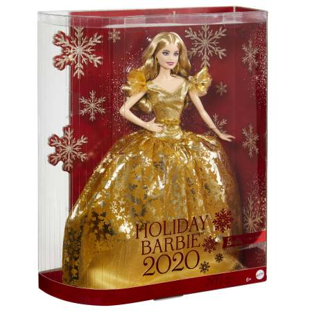 Holiday Barbie Puppe Blond