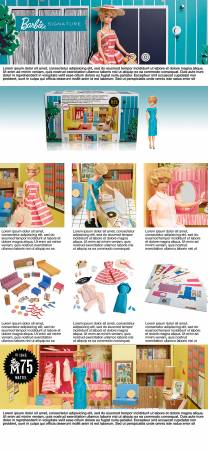 Barbie Dream House By Mattel Inc Doll House and Accessories