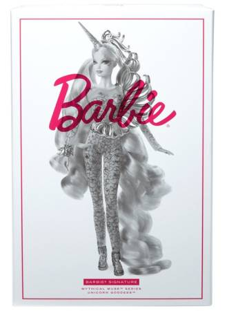 Unicorn Goddess Barbie Doll
