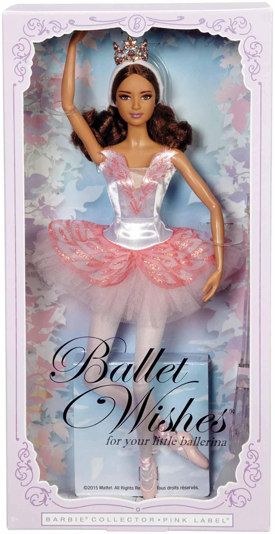 2016 Ballet Wishes Barbie Doll Hispanic B`n Doll`s Planet