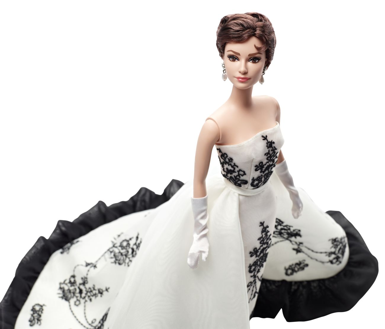 Audrey Hepburn as Sabrina Doll Silkstone - Collector Barbie